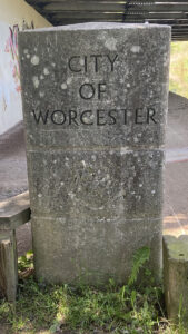 City of Worcester Sign under A449