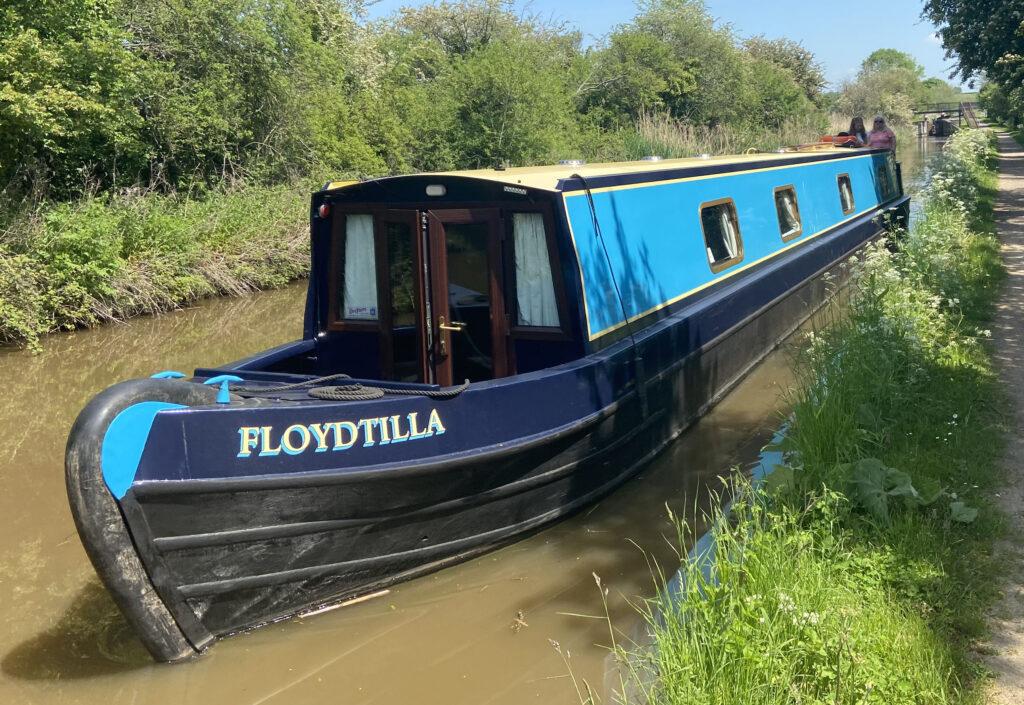 Floydtilla on the way to Gloucester
