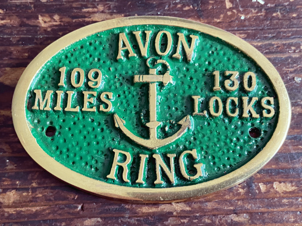 Avon Ring Plaque