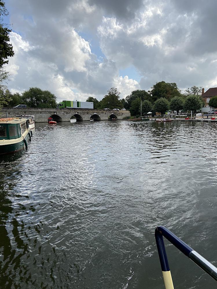 Leaving Stratford