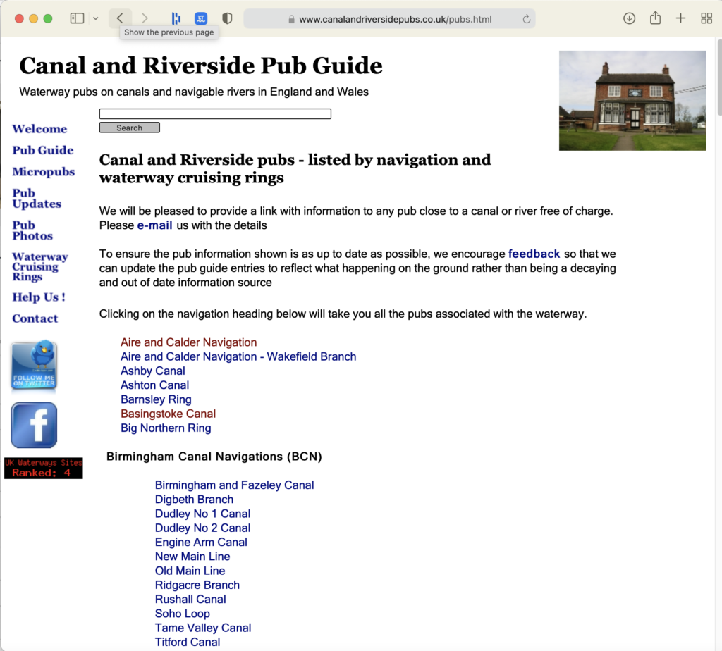 Canal and Riverside Pub Guide